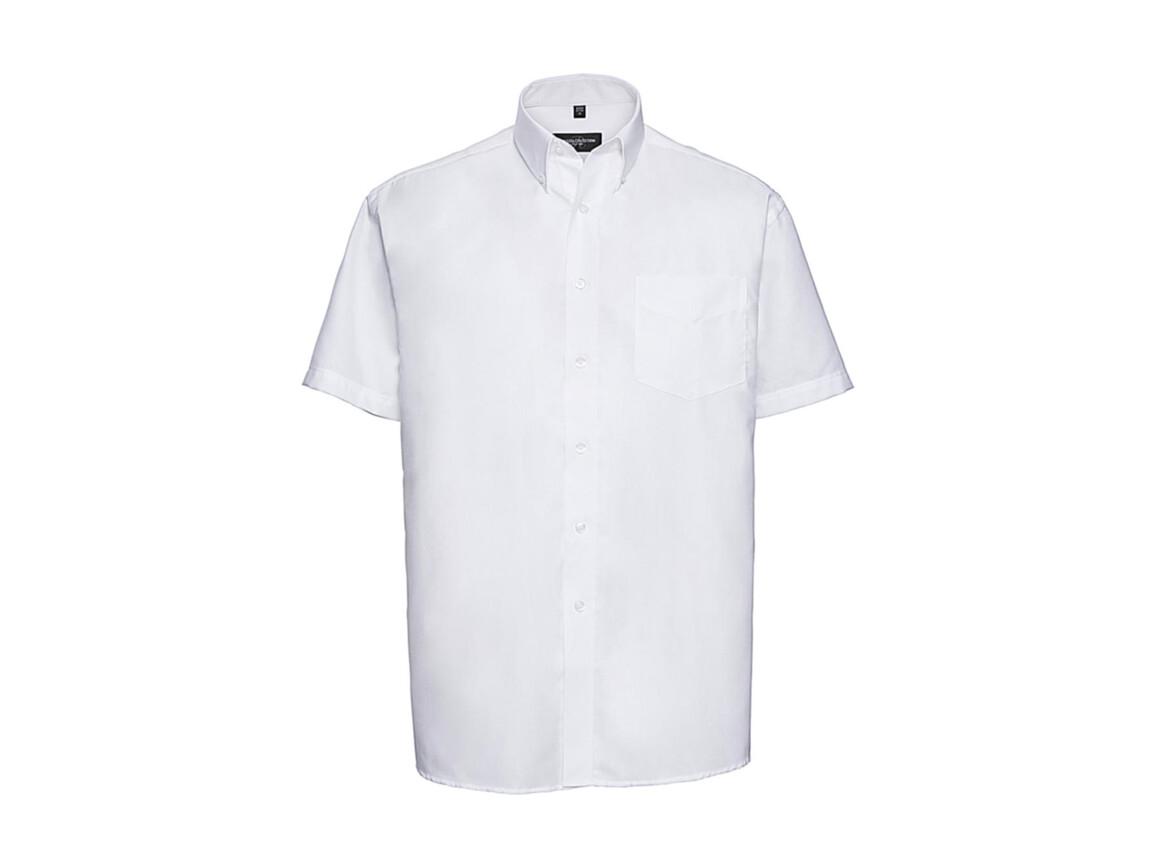Russell Europe Oxford Shirt, White, S bedrucken, Art.-Nr. 731000001