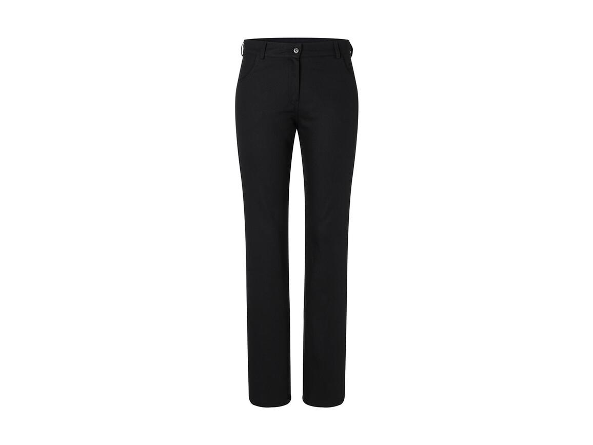 Karlowsky Ladies` Trousers Tina, Black, 42 (M) bedrucken, Art.-Nr. 987671015