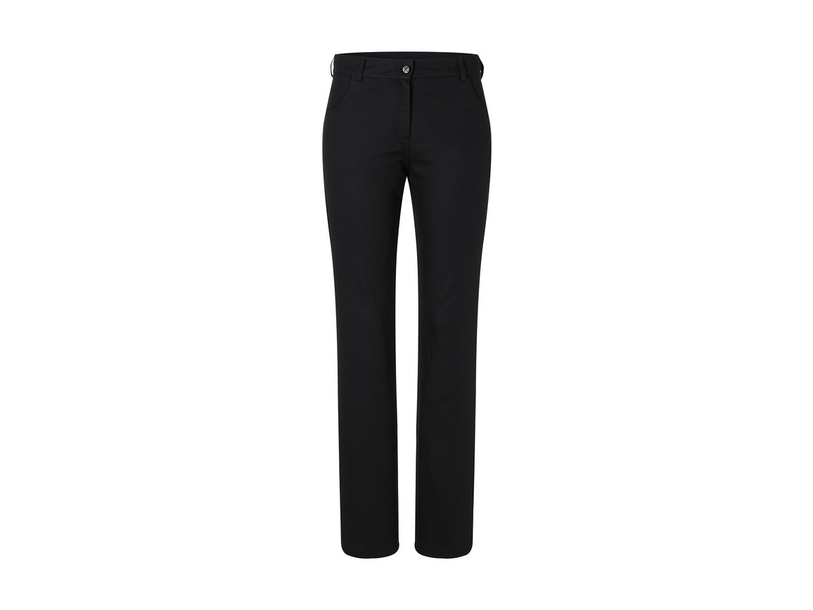 Karlowsky Ladies` Trousers Tina, Black, 48 (XL) bedrucken, Art.-Nr. 987671018