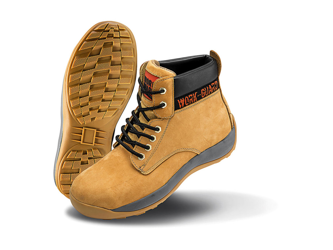 Result Strider Safety Boot, Nubuck Tan, 11 (46) bedrucken, Art.-Nr. 988337107
