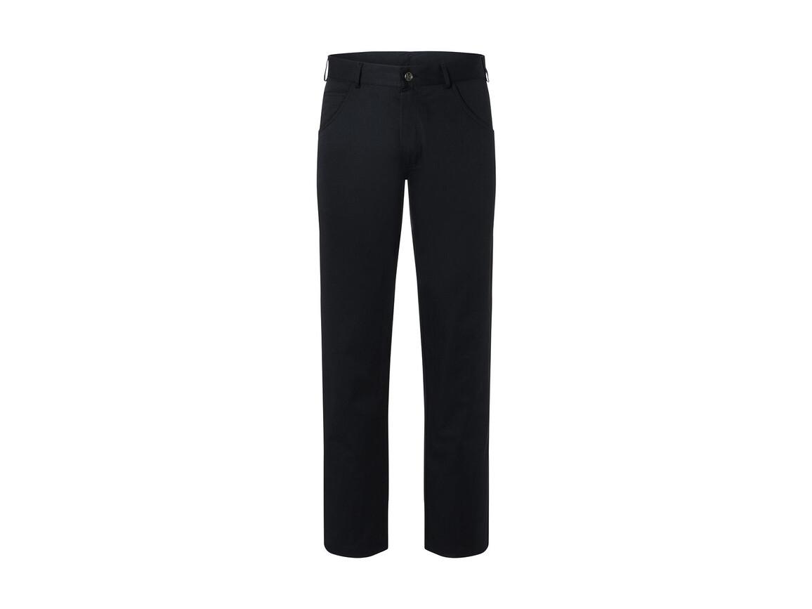 Karlowsky Trousers Manolo, Black, 52 (L) bedrucken, Art.-Nr. 988671013