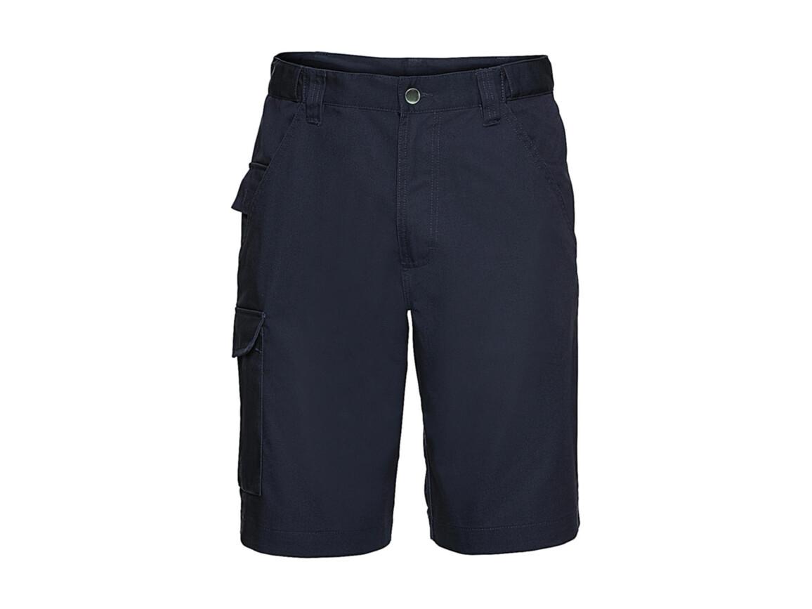 "Russell Europe Twill Workwear Shorts, French Navy, 36"" (91cm) bedrucken, Art.-Nr. 991002015"