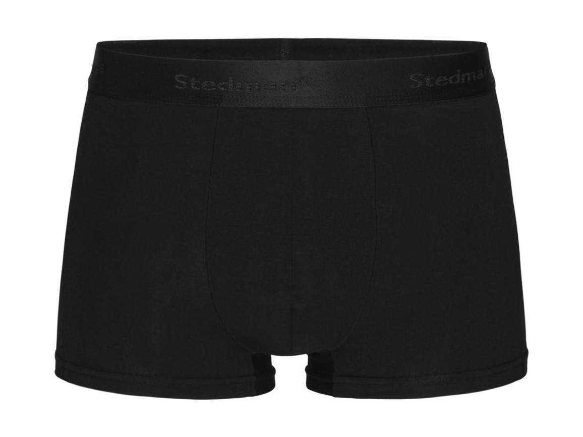 Stedman Dexter Boxers Men (2-Pack), Black Opal, L bedrucken, Art.-Nr. 992051025
