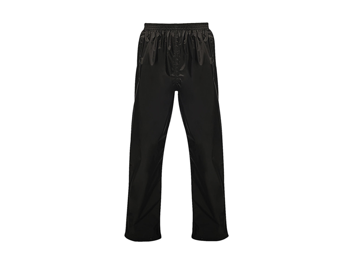 Regatta Pro Pack Away Overtrousers, Black, XS bedrucken, Art.-Nr. 992171012
