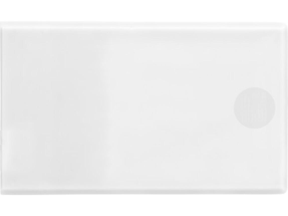 Powerbank 'Pocketline' aus ABS-Kunststoff – Weiß bedrucken, Art.-Nr. 002999999_7094