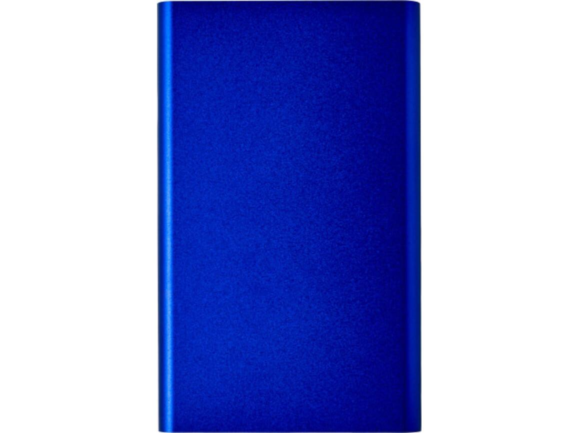 Powerbank 'Blogger' aus Aluminium – Kobaltblau bedrucken, Art.-Nr. 023999999_7298