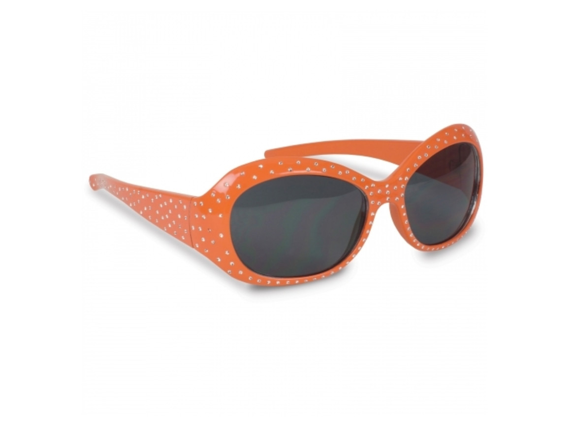 Sonnenbrille Paris - Orange bedrucken, Art.-Nr. LT16641-N0026