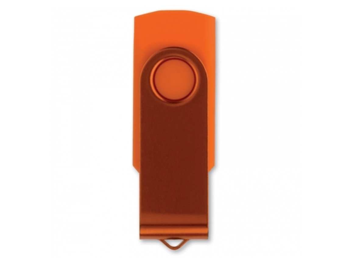 USB Stick Twister 16GB - Orange bedrucken, Art.-Nr. LT26404-N0026