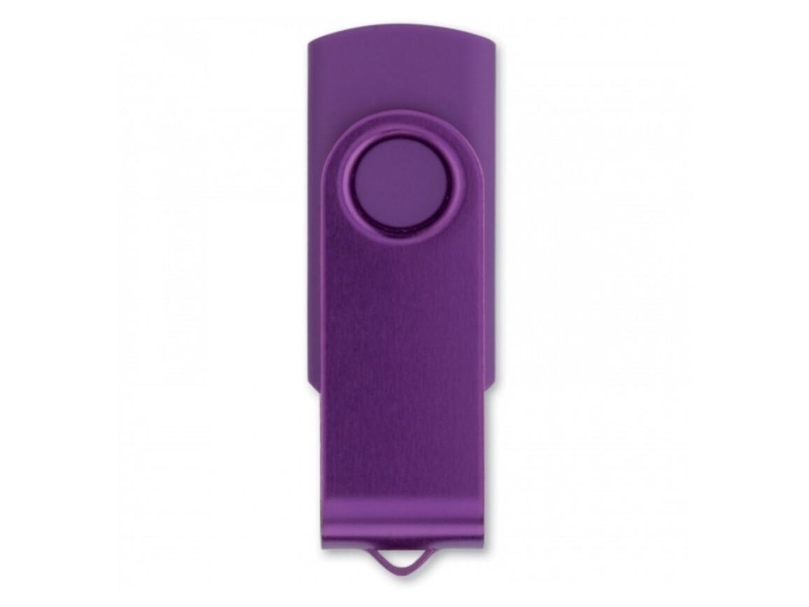 USB Stick Twister 16GB - Purple bedrucken, Art.-Nr. LT26404-N0072