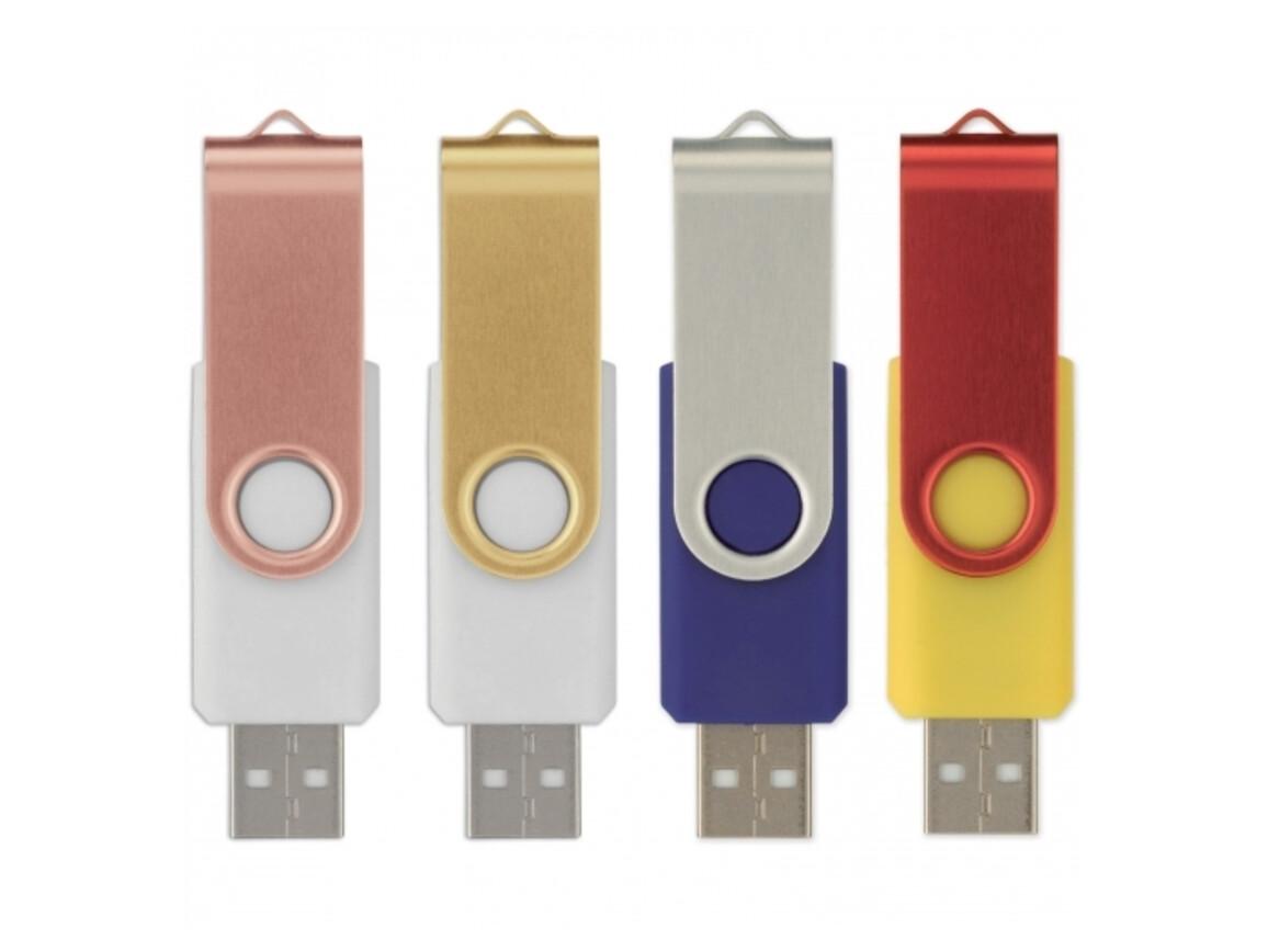 USB Flash Drive Twister 3.0 16GB - Kombination bedrucken, Art.-Nr. LT26604-N0999