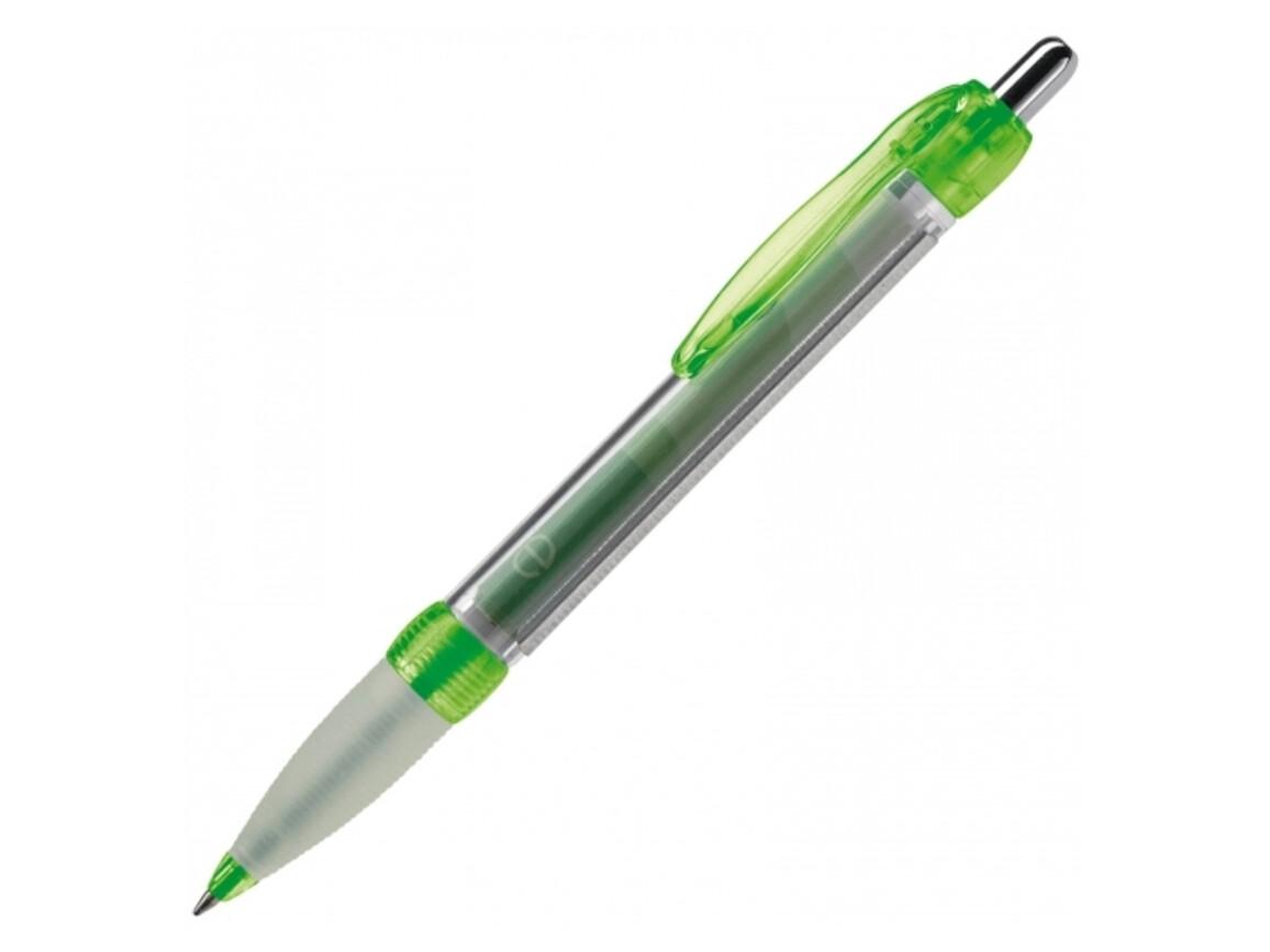 Banner Pen transparent - Transparent Grün bedrucken, Art.-Nr. LT80388-N0431