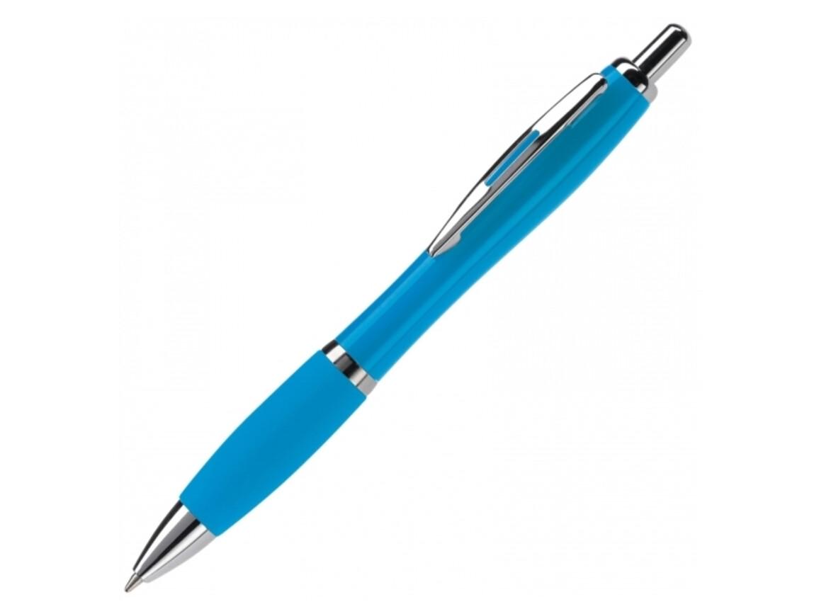 Kugelschreiber Hawaï HC - Hellblau bedrucken, Art.-Nr. LT80421-N0012