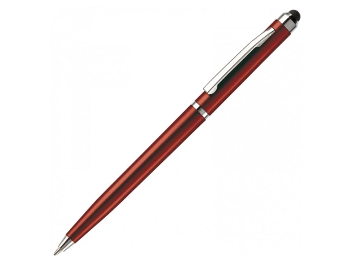 Stylus Touch Pen Slim - Dunkelrot bedrucken, Art.-Nr. LT80493-N0020