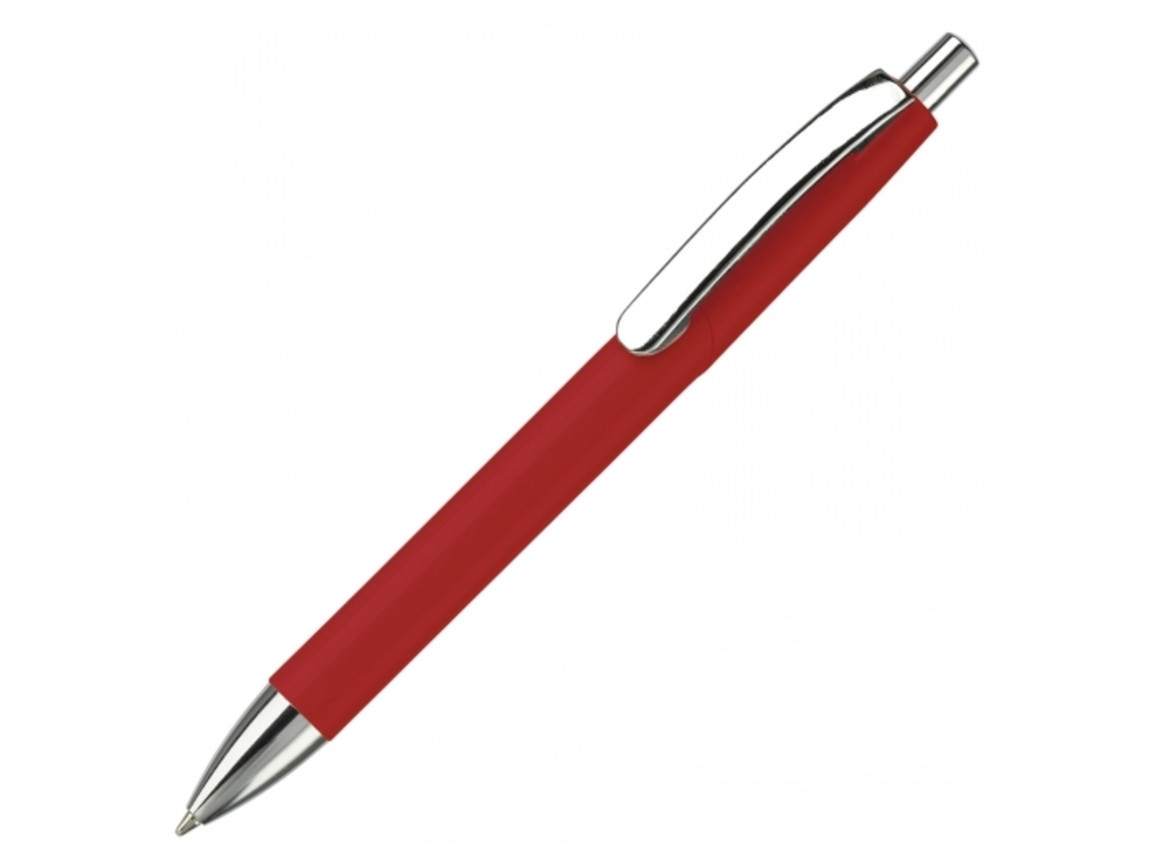 Kugelschreiber Texas Metallclip hc - Rot bedrucken, Art.-Nr. LT80508-N0021