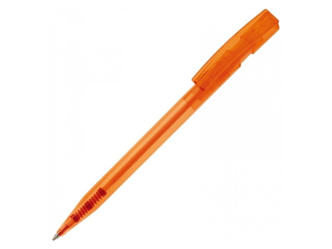 Kugelschreiber Nash Transparent - Transparent Orange bedrucken, Art.-Nr. LT80816-N0426