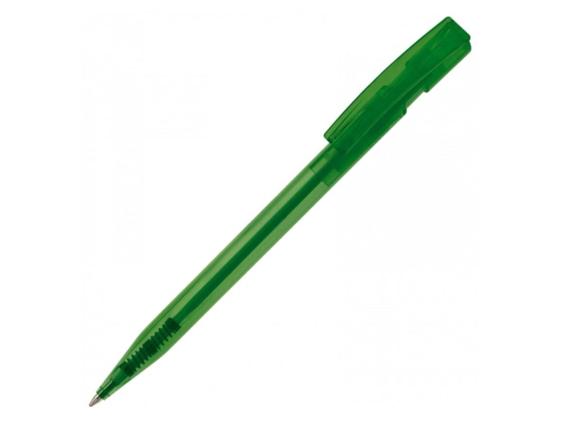 Kugelschreiber Nash Transparent - Transparent Grün bedrucken, Art.-Nr. LT80816-N0431