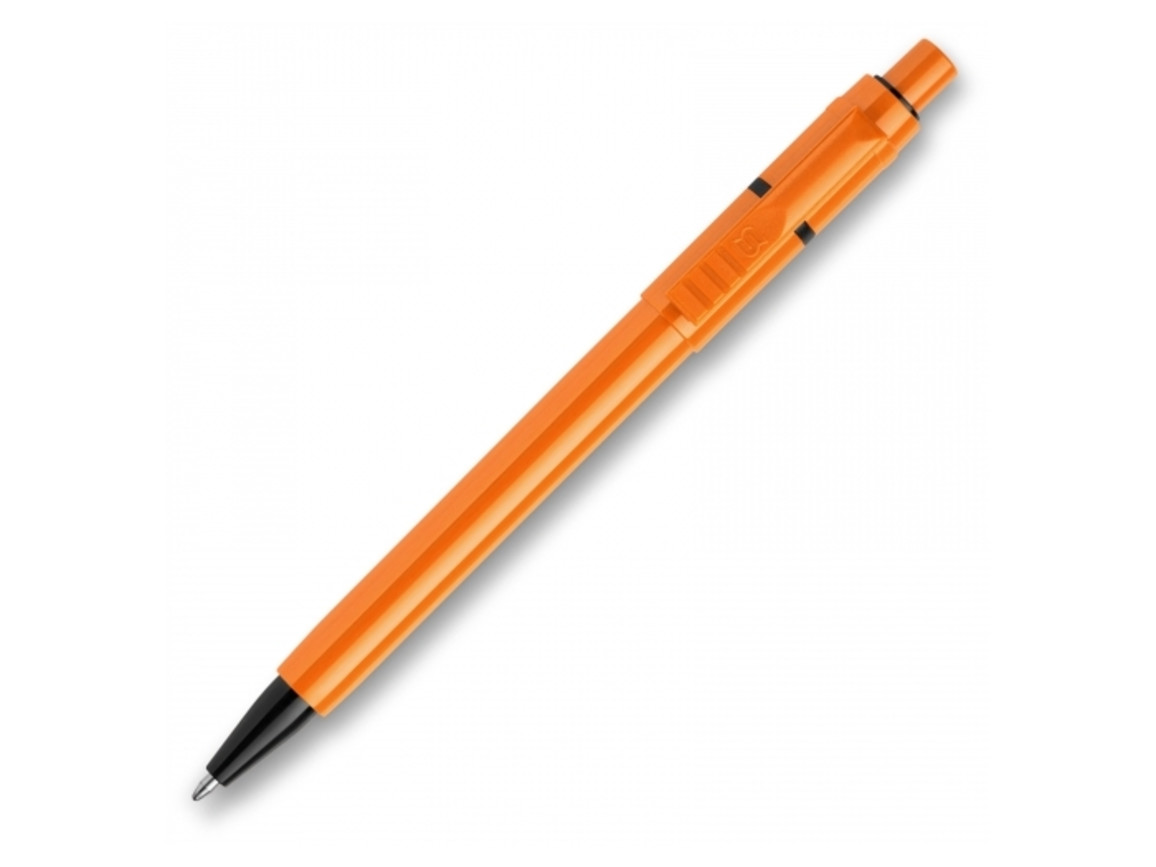 Kugelschreiber Baron Extra hardcolour - Orange / Schwarz bedrucken, Art.-Nr. LT80914-N2602