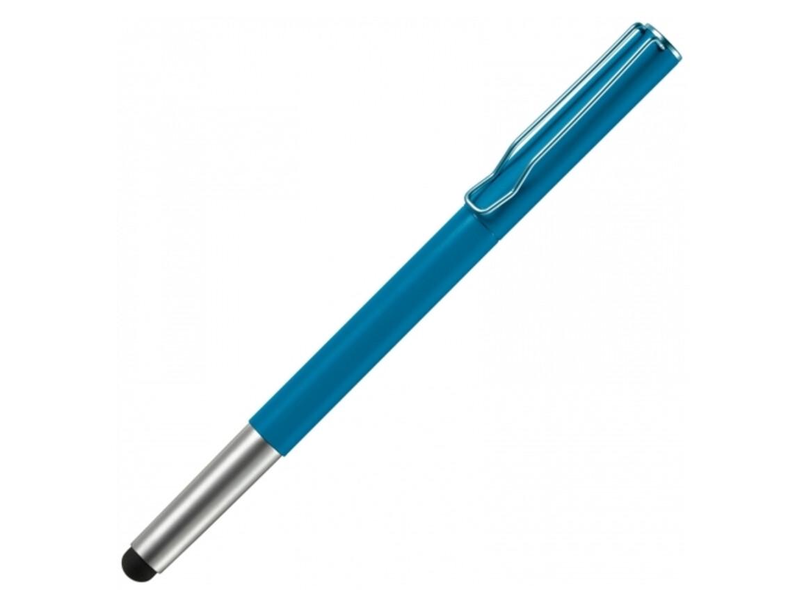 Rollerball Stylus - Hellblau bedrucken, Art.-Nr. LT81105-N0012