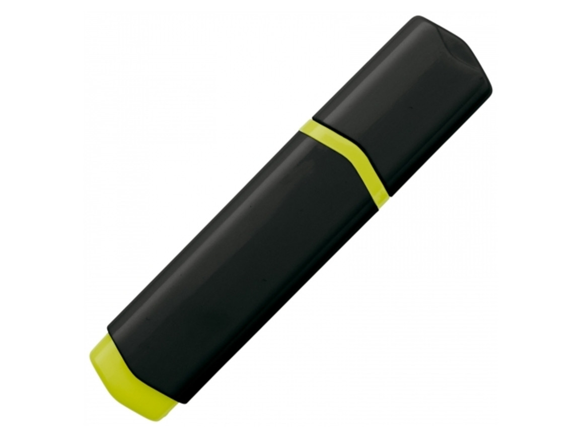 Textmarker - Schwarz / Gelb bedrucken, Art.-Nr. LT81283-N0241