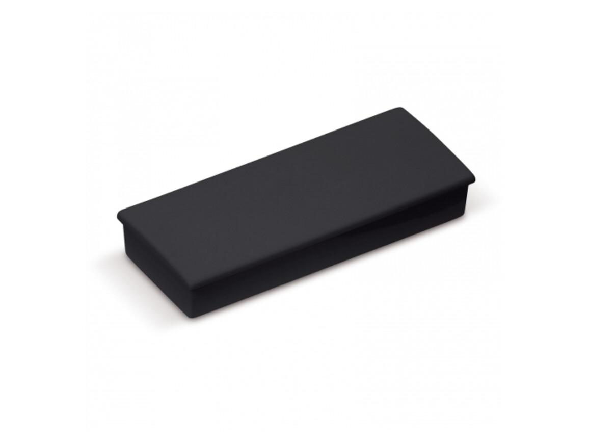 Magnet rechteckig - Schwarz bedrucken, Art.-Nr. LT90461-N0002