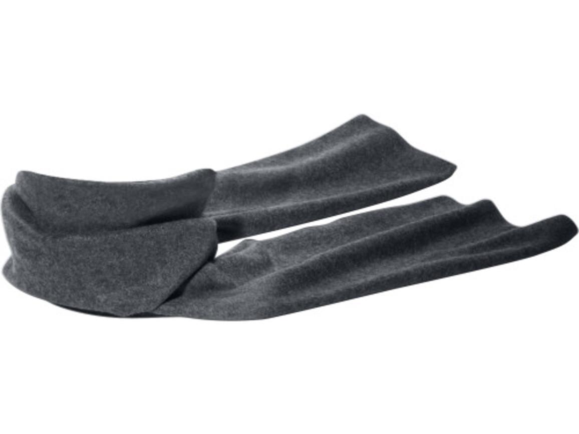 Fleece-Schal 'Kitzbühel' aus Polyester-Fleece – Grau bedrucken, Art.-Nr. 003999999_1743