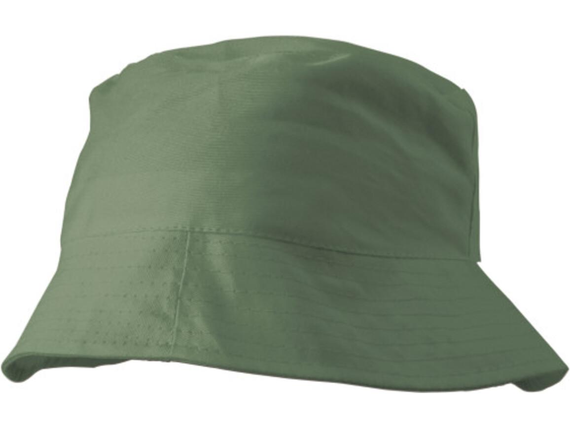 Sonnenhut 'Safari' aus 100% Baumwolle – Grün bedrucken, Art.-Nr. 004999999_3826