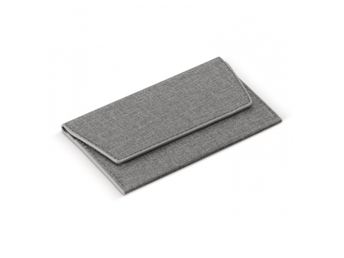 RFID Smartphone Portemonnaie für Karten - Grau bedrucken, Art.-Nr. LT92192-N0061