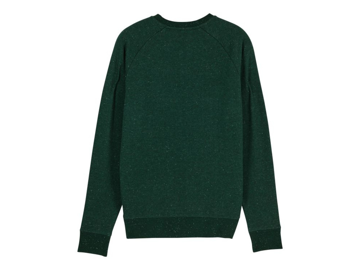 Iconic Herren Rundhals-Sweatshirt - Heather Scarab Green - L bedrucken, Art.-Nr. STSM567C6621L