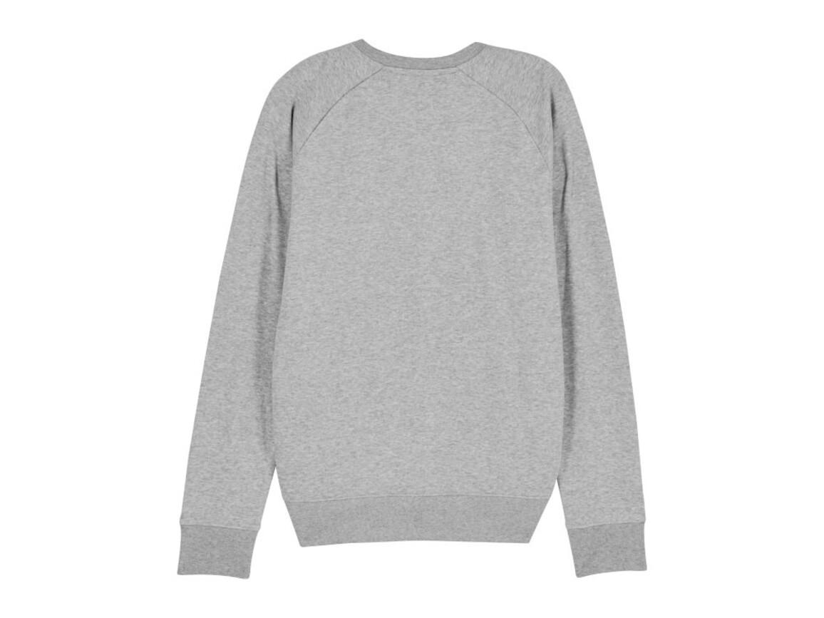 Iconic Herren Rundhals-Sweatshirt - Heather Grey - S bedrucken, Art.-Nr. STSM567C2501S