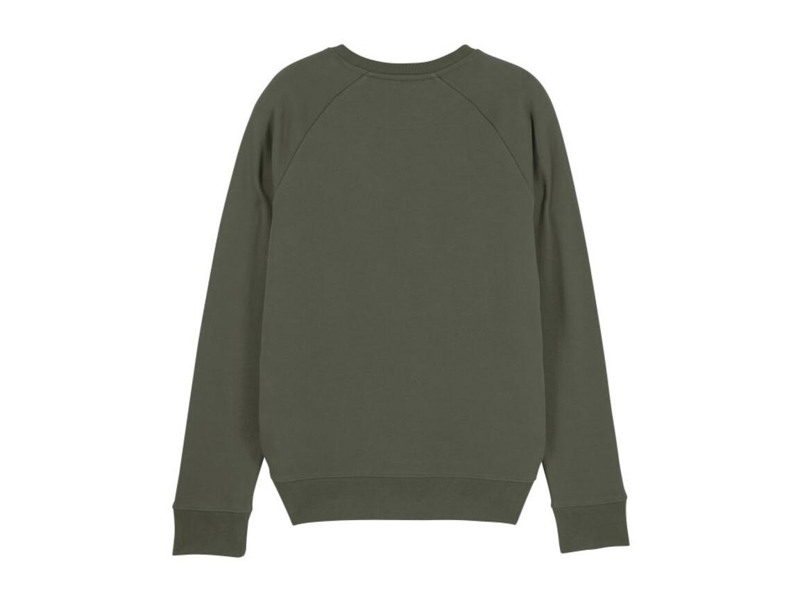 Iconic Herren Rundhals-Sweatshirt - Khaki - XL bedrucken, Art.-Nr. STSM567C2231X