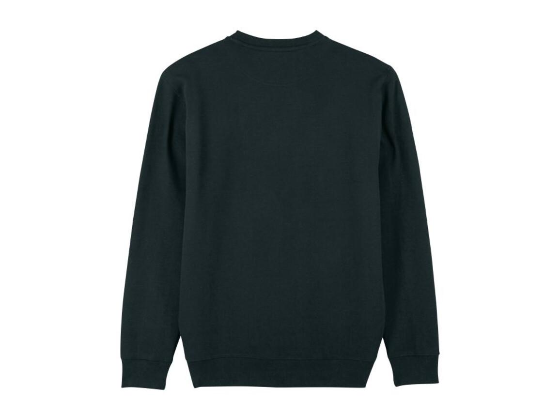 Iconic Unisex Rundhals-Sweatshirt - Black - XXXL bedrucken, Art.-Nr. STSU823C0023X