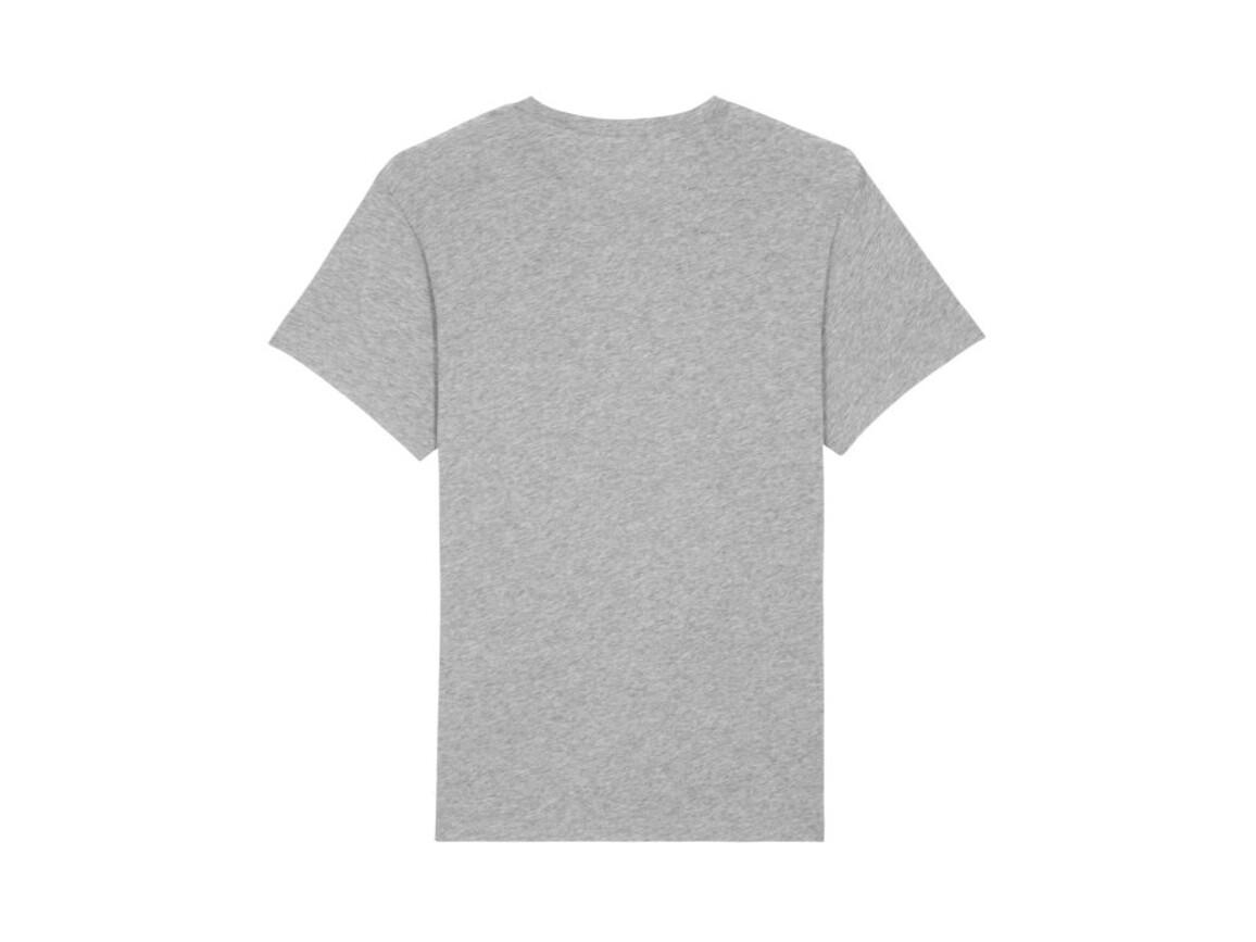Männer Flammengarn T-Shirt - Heather Grey Slub - M bedrucken, Art.-Nr. STTM635C2551M