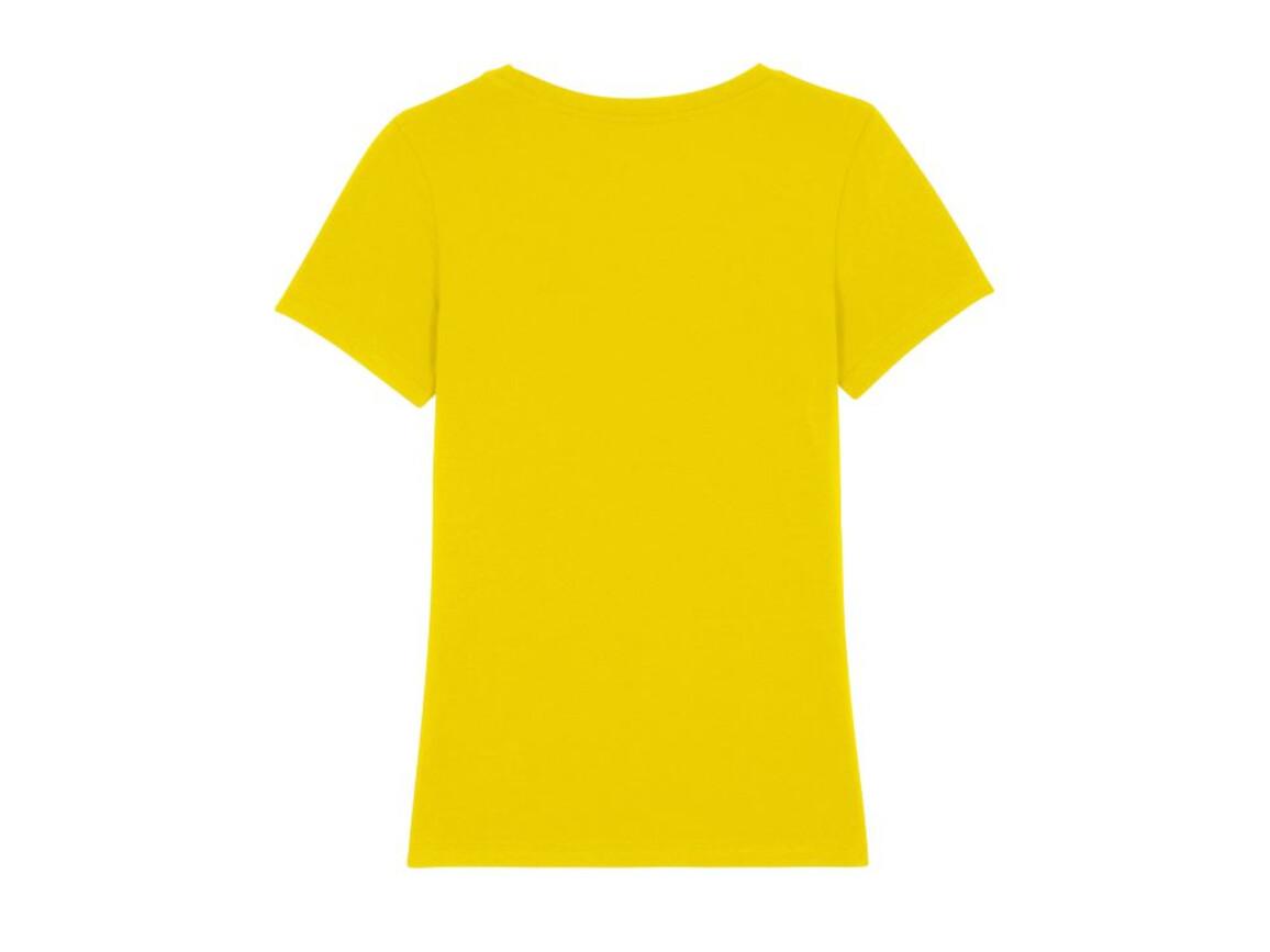 Iconic Damen anliegendes T-Shirt - Golden Yellow - L bedrucken, Art.-Nr. STTW032C0121L