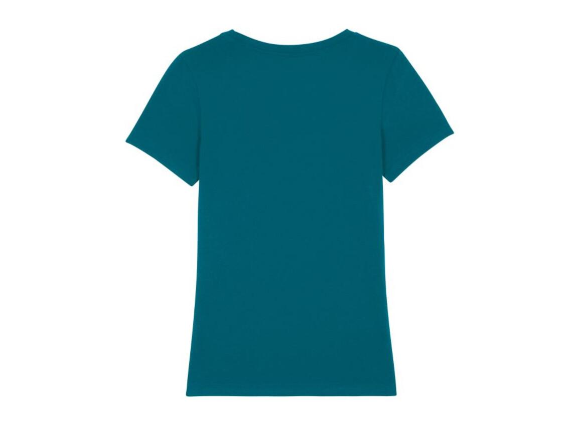 Iconic Damen anliegendes T-Shirt - Ocean Depth - L bedrucken, Art.-Nr. STTW032C7101L