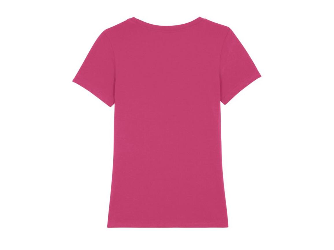 Iconic Damen anliegendes T-Shirt - Raspberry - XXL bedrucken, Art.-Nr. STTW032C2402X