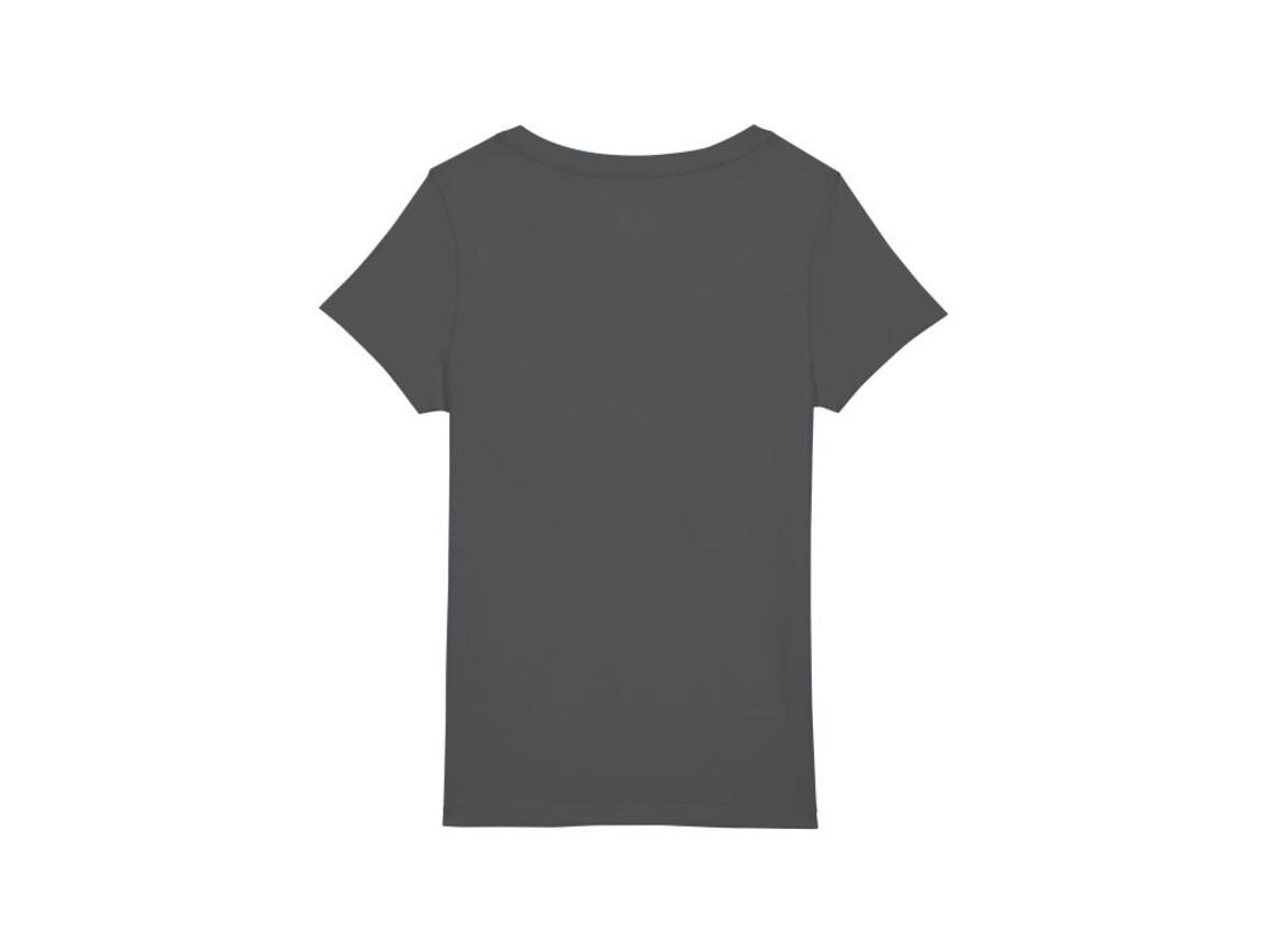 Essential Damen T-shirt - Anthracite - M bedrucken, Art.-Nr. STTW039C2531M