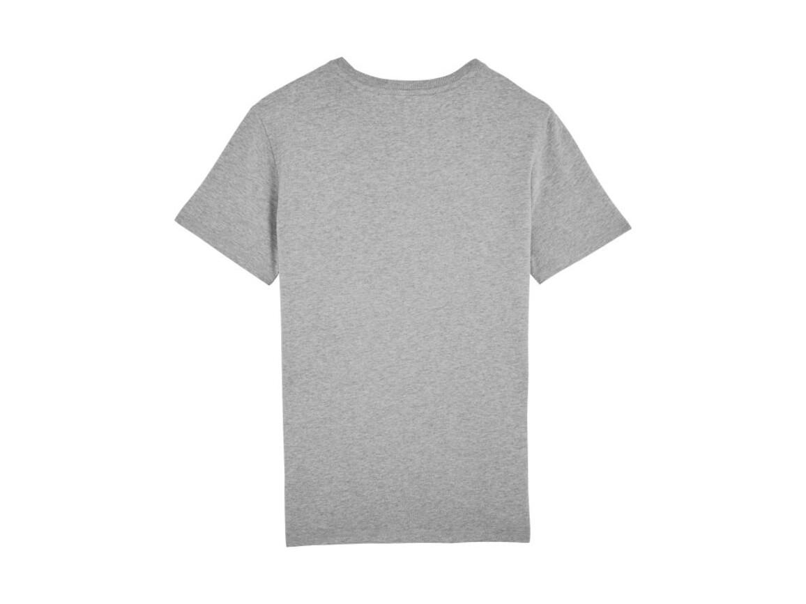 Schweres T-Shirt mit Rundhalsausschnitt - Heather Grey - S bedrucken, Art.-Nr. STTM618C2501S