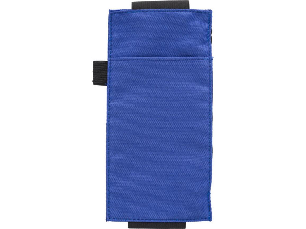 Stifte-Etui 'Wrapper' aus Kunststoff – Kobaltblau bedrucken, Art.-Nr. 023999999_9142