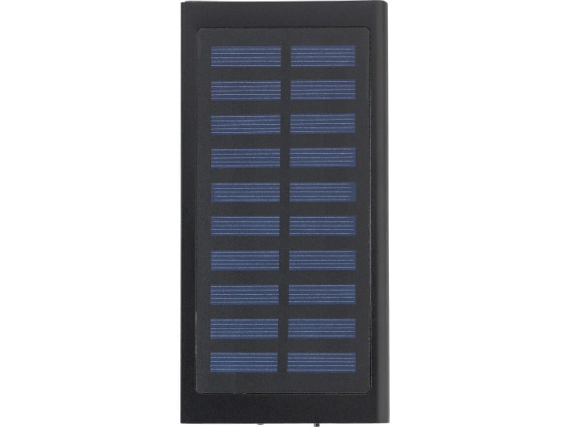Solar-Aufladegerät 'Sunlight' aus Kunststoff – Schwarz bedrucken, Art.-Nr. 001999999_9150