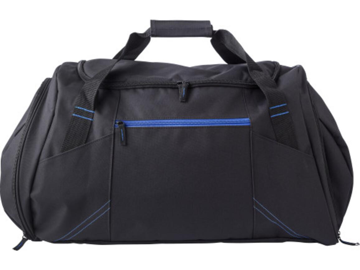 Sporttasche 'Workout' aus Polyester – Kobaltblau bedrucken, Art.-Nr. 023999999_9163