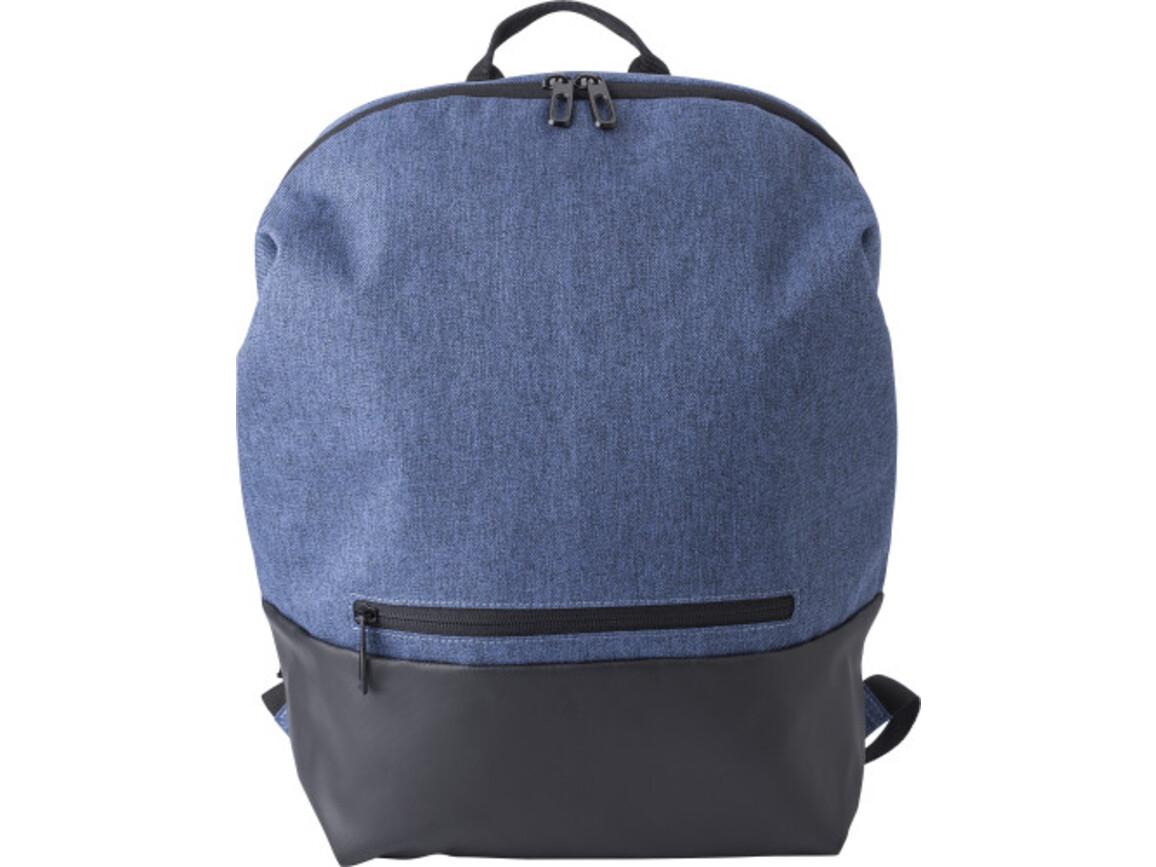 Rucksack 'Biggelo' aus Polyester – Blau bedrucken, Art.-Nr. 005999999_9176