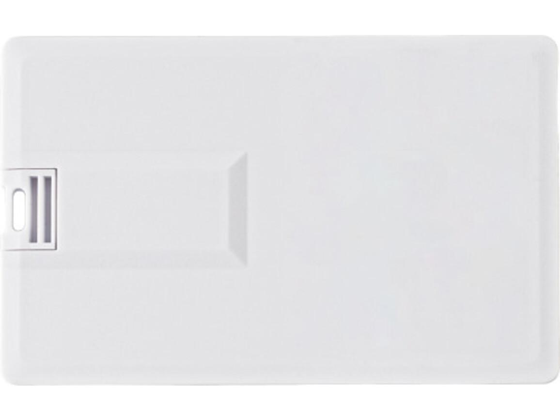 USB-Stick 'Thin' aus Kunststoff – Weiß bedrucken, Art.-Nr. 002999041_9195