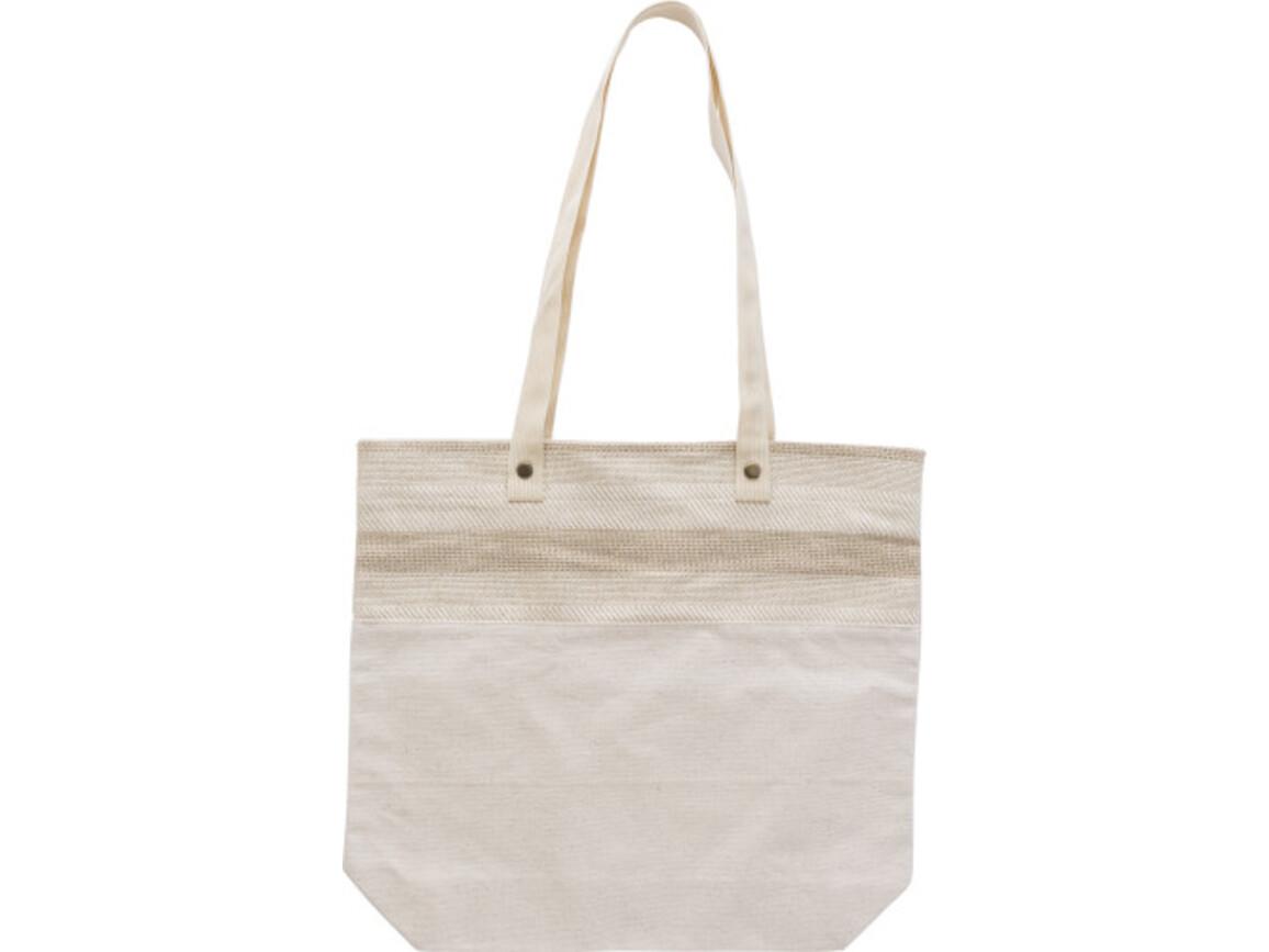Einkaufstasche 'Green Shopper' aus Baumwolle – Braun bedrucken, Art.-Nr. 011999999_9260