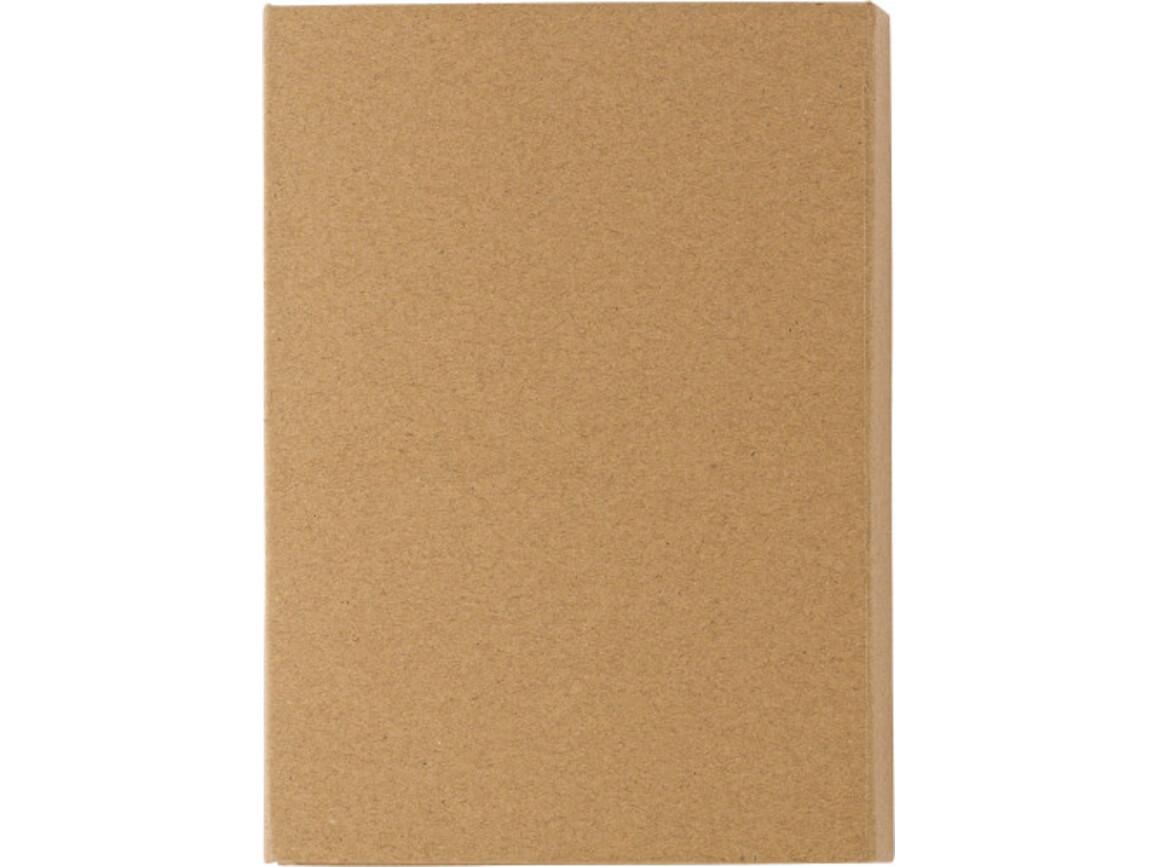 Schreibmappe 'Student' aus Karton inkl. Zubehör – Braun bedrucken, Art.-Nr. 011999999_8273