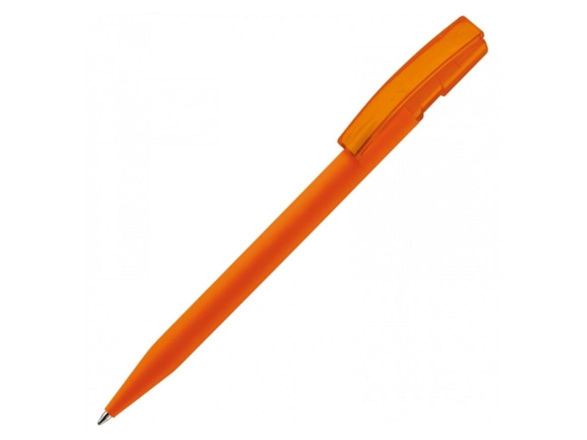 Kugelschreiber Nash Soft Touch - Orange bedrucken, Art.-Nr. LT80818-N0026