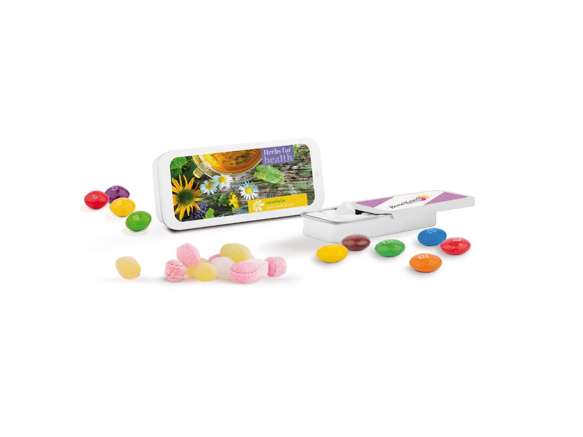 Schiebedeckeldose, Traubenzuckerquadrate bedrucken, Art.-Nr. 1116.00003