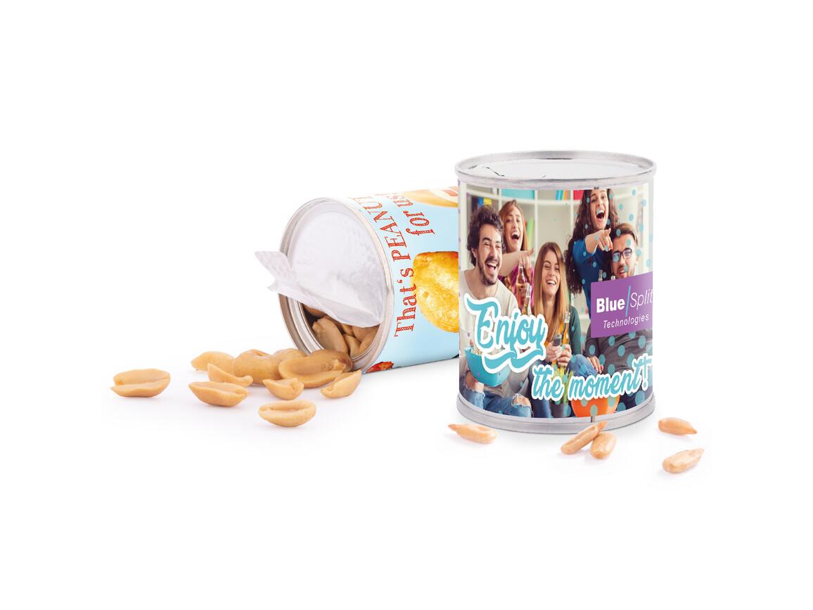 Snack Dose, Erdnüsse geröstet und gesalzen bedrucken, Art.-Nr. 1163.00001
