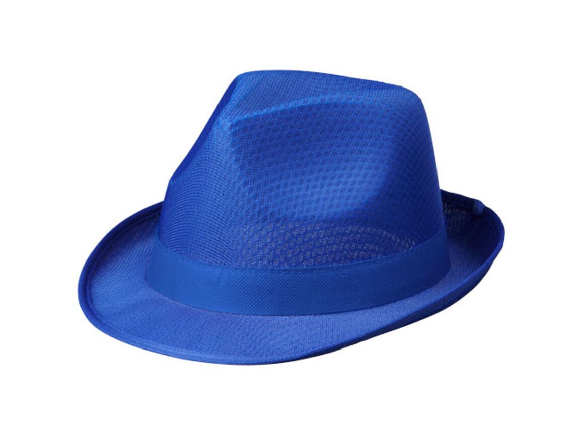 Tribly Hut mit Band, blau bedrucken, Art.-Nr. 11107055