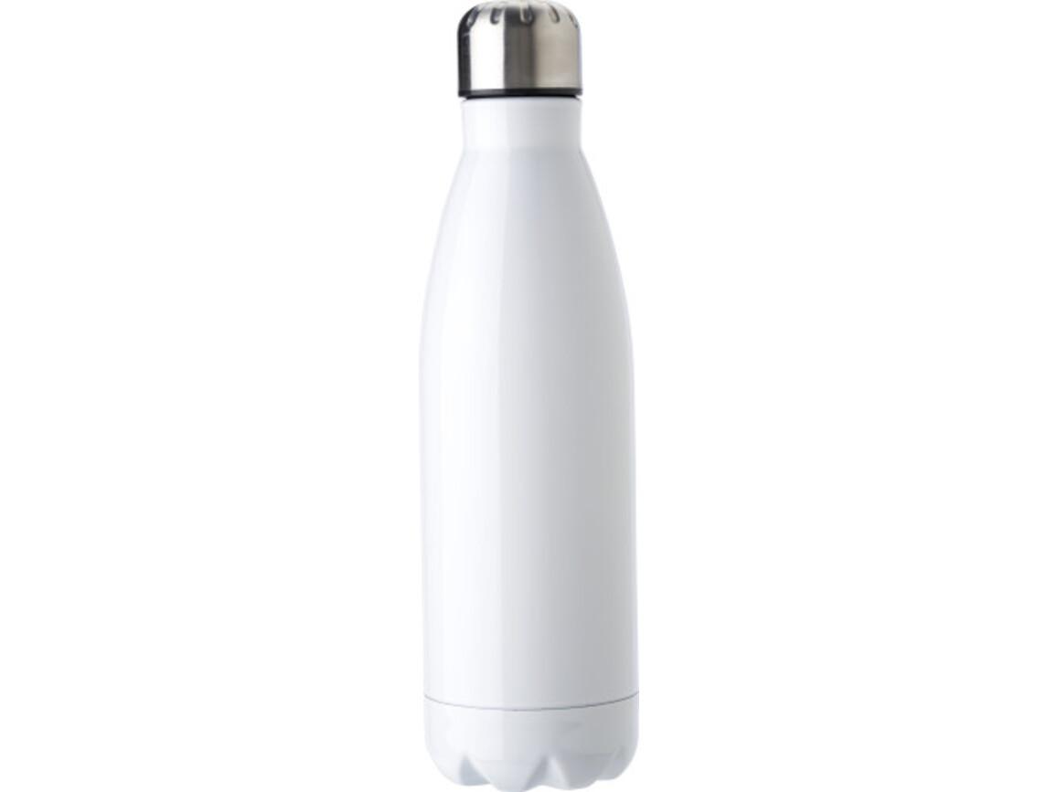 Flasche aus Edelstahl (750 ml) – Weiß bedrucken, Art.-Nr. 002999999_9187