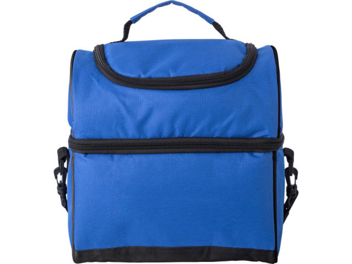Kühltasche 'Eisprinzessin' aus Polyester – Kobaltblau bedrucken, Art.-Nr. 023999999_9173